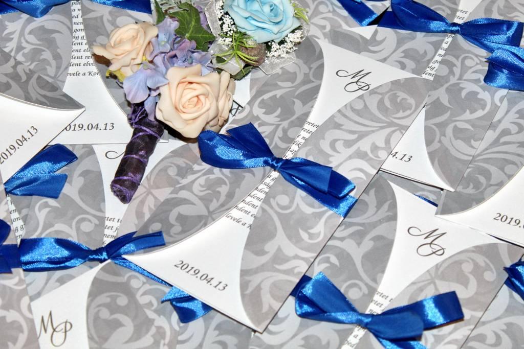 Kártyás esküvői meghívó 03