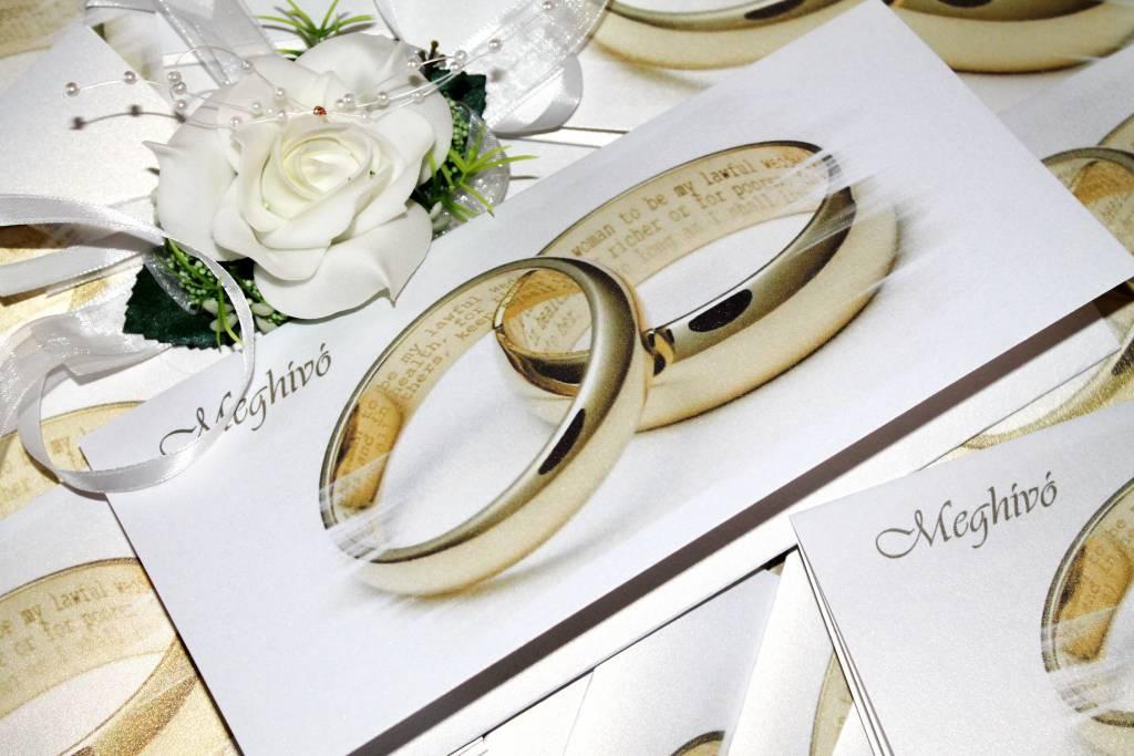 Kártyás esküvői meghívó 06